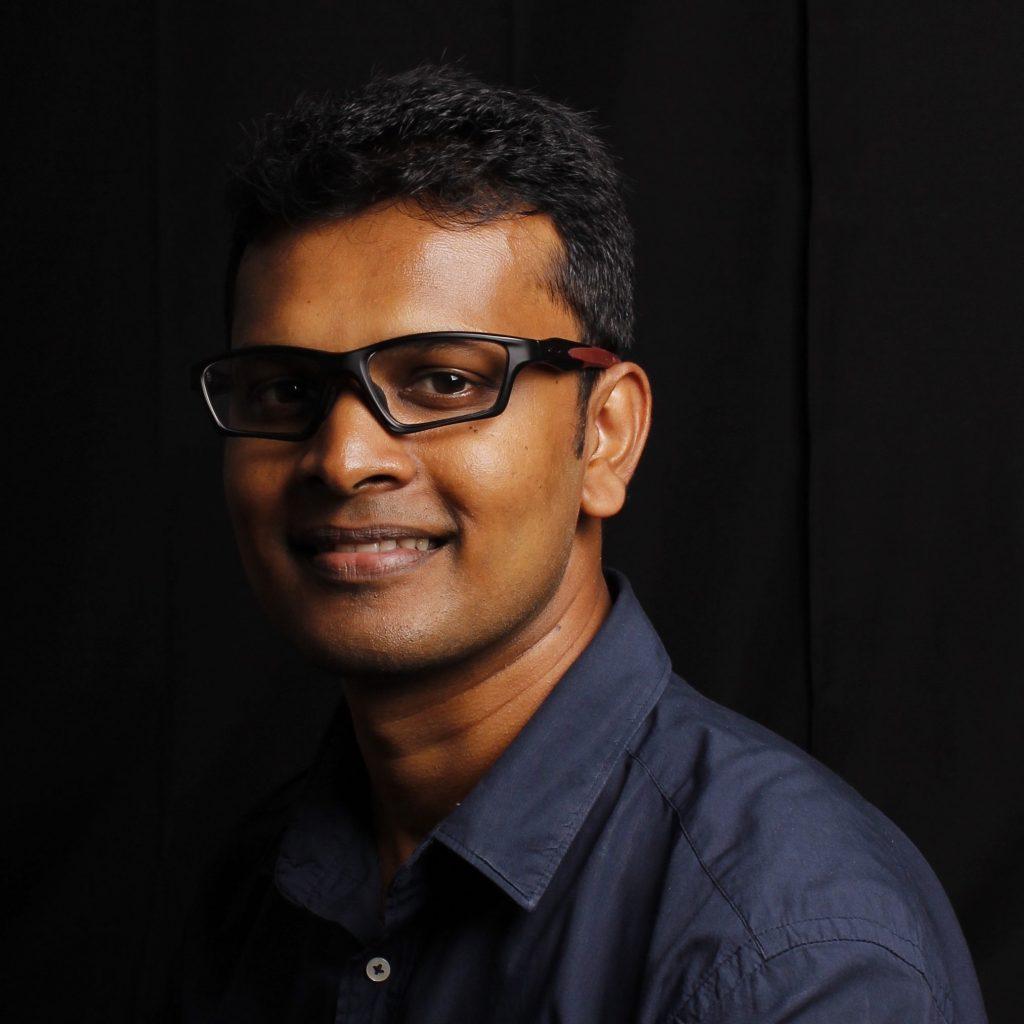 Portrait of Suranga Nanayakkara